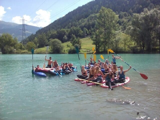 Stand up Paddle à Bourg saint Maurice